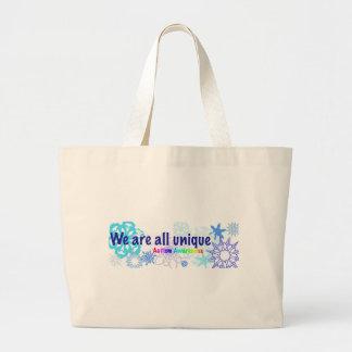 snowflakes_autism grand sac