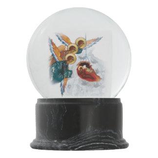 Snowglobe fait sur commande avec l'icône de Noël Boule À Neige