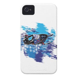 Snowmobiler graphique coques iPhone 4 Case-Mate