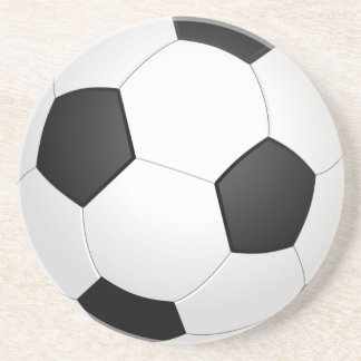 soccerball zandsteen onderzetter