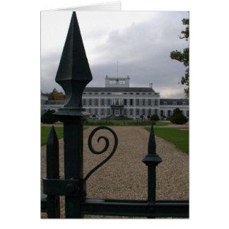 Soestdijk Royal Palace Carte
