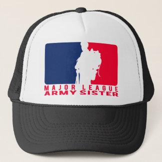 Soeur d'armée de ligue casquette