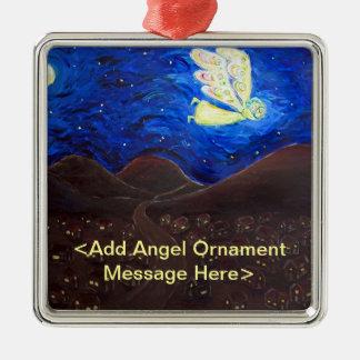 Soin des ornements de cadeau d'ange d'âme