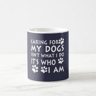 Soins de mes chiens mug