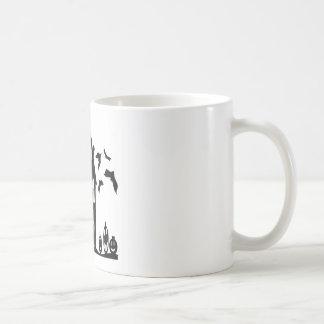 Soirée mystérieuse mug blanc