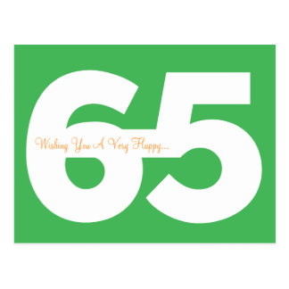 Soixante-cinquième cartes postales heureuses