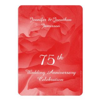 soixante-quinzième Invitation de fête