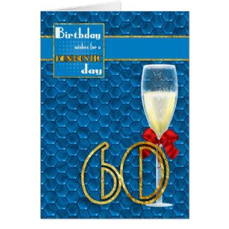 soixantième anniversaire - carte d'anniversaire