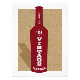 Soixantième invitation de partie de vin