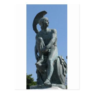 Soldat du grec ancien en Grèce classique Cartes Postales