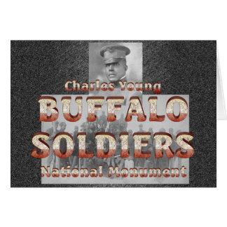 Soldats de Buffalo d'ABH Carte De Vœux