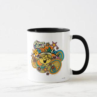 Soleil d'amour de paix mug