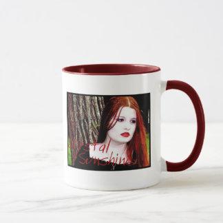 Soleil en cristal mug
