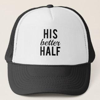 Son art de mot de tendre moitié, conception des casquette