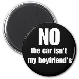 Son MON aimant de voiture de voiture