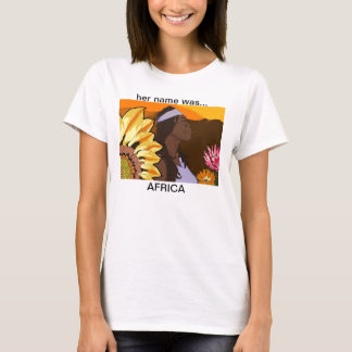son nom était… l'AFRIQUE T-shirt