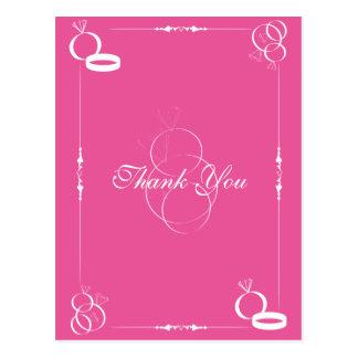 Sonne le carte de remerciements du mariage #2