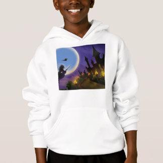 Sorcière et sweat - shirt à capuche de la jeunesse