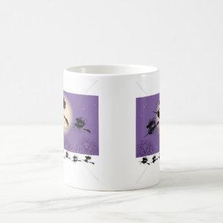 Sorcières sur un balai mug