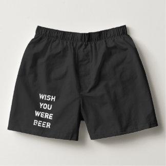 Souhait vous étiez les sous-vêtements drôles de