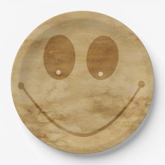 Sourire Assiettes En Papier