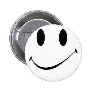 sourire badge rond 5 cm