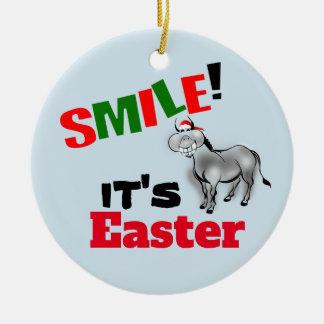 Sourire c'est ornement de sourire drôle d'âne de