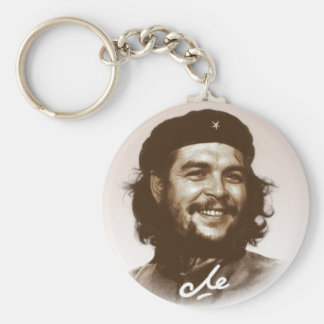 Sourire d'Ernesto Che Guevara Porte-clé Rond