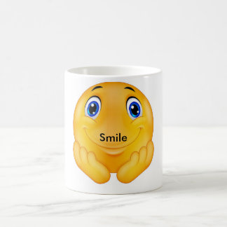 Sourire heureux mug