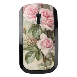 Souris Sans Fil Roses romantiques victoriens vintages