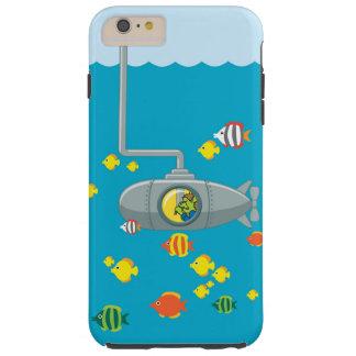 Sous-marin de piaulement Tom (iphone) Coque Tough iPhone 6 Plus