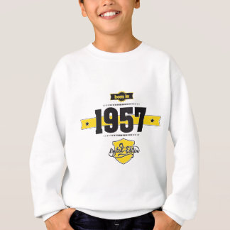 soutenu en 1957 (choco&yellow) sweatshirt
