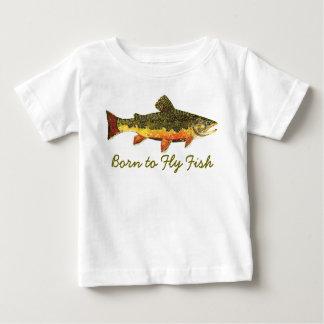 """""""Soutenu pêche humoristique de truite pour piloter T-shirt Pour Bébé"""