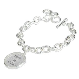 Soutenu pour écrire le bracelet de charme