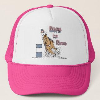 Soutenu pour emballer le casquette de cheval de