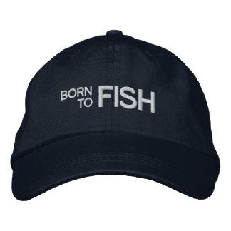 Soutenu pour pêcher le casquette brodé