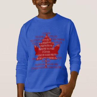 Souvenir d'hymne du Canada de sweatshirts du