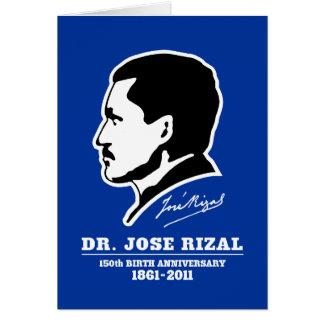 Souvenirs d'anniversaire de naissance de Dr. Jose Carte De Vœux
