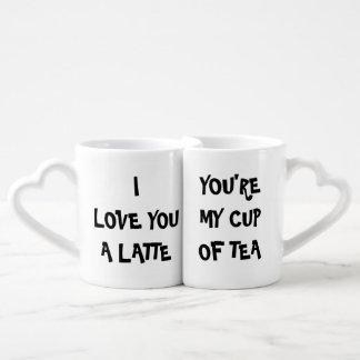 Souvenirs de matin pour la tasse de couples