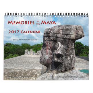Souvenirs du calendrier mural de Maya
