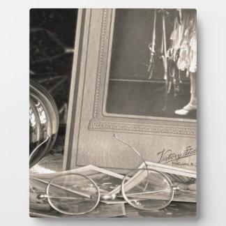 Souvenirs vintages impressions sur plaque