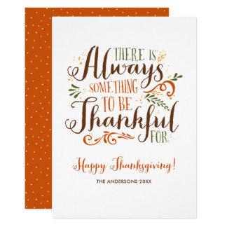 Soyez bon thanksgiving lunatique reconnaissant carton d'invitation  12,7 cm x 17,78 cm