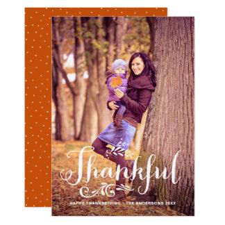 Soyez bon thanksgiving lunatique reconnaissant de carton d'invitation  12,7 cm x 17,78 cm