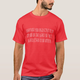 Soyez gentil au T-shirt de vers de bible de