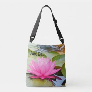 """""""Soyez juste"""" sac d'épaule croisé de Lotus"""