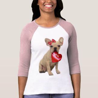 Soyez mon T-shirt de bouledogue français de