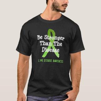 Soyez plus forte que la maladie de Lyme de la T-shirt