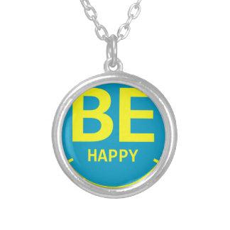 Soyez sourire heureux collier