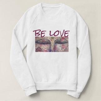 Soyez sweatshirt d'art d'aquarelle de Bouddha