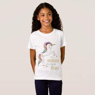 Soyez un T-shirt de licorne